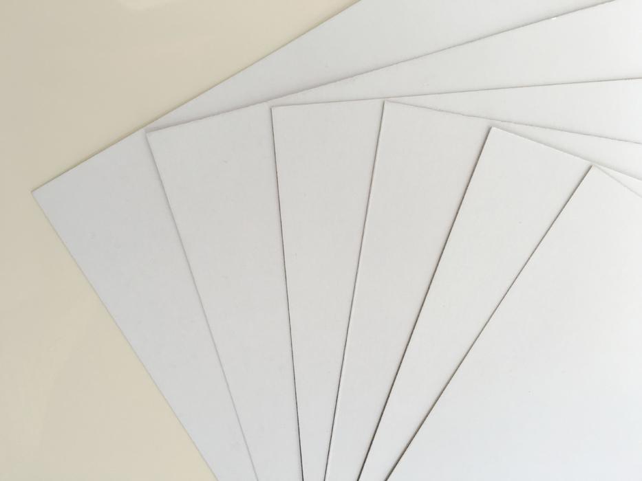 Duplex Board with White Back